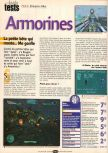 Scan of the review of Armorines: Project S.W.A.R.M. published in the magazine Player One 104