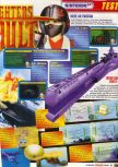 Scan of the review of Aero Fighters Assault published in the magazine Le Magazine Officiel Nintendo 05