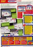 Scan of the review of NHL Breakaway 98 published in the magazine Le Magazine Officiel Nintendo 05, page 3