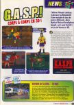 Scan of the preview of G.A.S.P!!: Fighter's NEXTream published in the magazine Le Magazine Officiel Nintendo 05