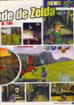 Scan of the preview of The Legend Of Zelda: Ocarina Of Time published in the magazine Le Magazine Officiel Nintendo 05