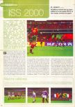 Scan of the review of International Superstar Soccer 2000 published in the magazine Consoles News 48, page 1