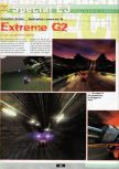 Scan of the preview of Extreme-G 2 published in the magazine Ultra 64 1, page 1