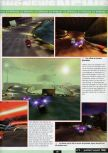Scan of the preview of Extreme-G 2 published in the magazine Ultra 64 1, page 2