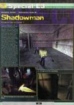 Scan of the preview of Shadow Man published in the magazine Ultra 64 1