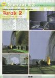 Scan of the preview of Turok 2: Seeds Of Evil published in the magazine Ultra 64 1