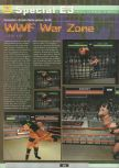 Scan of the preview of WWF War Zone published in the magazine Ultra 64 1