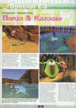 Scan of the preview of Banjo-Kazooie published in the magazine Ultra 64 1