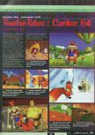 Scan of the preview of Conker's Bad Fur Day published in the magazine Ultra 64 1