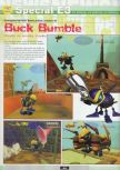 Scan of the preview of Buck Bumble published in the magazine Ultra 64 1