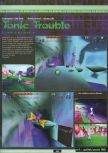 Scan of the preview of Tonic Trouble published in the magazine Ultra 64 1