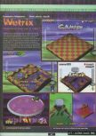 Scan of the preview of Wetrix published in the magazine Ultra 64 1