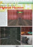 Scan of the preview of Hybrid Heaven published in the magazine Ultra 64 1