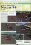 Scan of the preview of NASCAR '99 published in the magazine Ultra 64 1