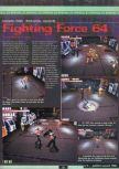 Scan of the preview of Fighting Force 64 published in the magazine Ultra 64 1