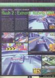 Scan of the preview of Rush 2: Extreme Racing published in the magazine Ultra 64 1
