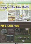 Scan of the preview of Iggy's Reckin' Balls published in the magazine Ultra 64 1