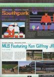 Scan of the preview of Major League Baseball Featuring Ken Griffey, Jr. published in the magazine Ultra 64 1