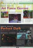 Scan of the preview of Jet Force Gemini published in the magazine Ultra 64 1