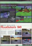 Scan of the preview of Roadsters published in the magazine Ultra 64 1