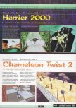 Scan of the preview of Chameleon Twist 2 published in the magazine Ultra 64 1
