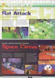 Scan of the preview of Rat Attack published in the magazine Ultra 64 1