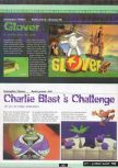 Scan of the preview of Charlie Blast's Territory published in the magazine Ultra 64 1