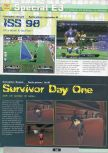 Scan of the preview of International Superstar Soccer 98 published in the magazine Ultra 64 1