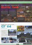 Scan of the preview of Battletanx published in the magazine Ultra 64 1