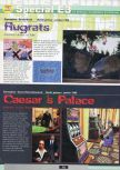 Scan of the preview of Caesar's Palace 64 published in the magazine Ultra 64 1