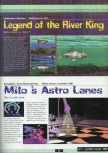 Scan of the preview of Milo's Astro Lanes published in the magazine Ultra 64 1, page 1