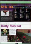 Scan of the preview of Body Harvest published in the magazine Ultra 64 1