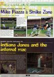 Scan of the preview of Indiana Jones and the Infernal Machine published in the magazine Ultra 64 1