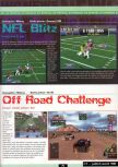 Scan of the preview of NFL Blitz published in the magazine Ultra 64 1