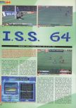 Scan of the review of International Superstar Soccer 2000 published in the magazine Actu & Soluces 64 02, page 1