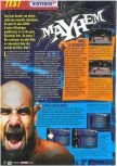 Scan of the test of WCW Mayhem published in the magazine Le Magazine Officiel Nintendo n� 23