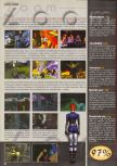 Scan of the review of Perfect Dark published in the magazine Consoles News 46
