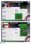 Scan of the review of World Cup 98 published in the magazine Nintendo Power 109