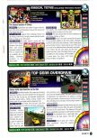 Scan of the review of Magical Tetris Challenge published in the magazine Nintendo Power 115
