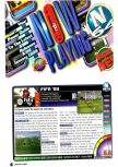 Scan of the review of FIFA 99 published in the magazine Nintendo Power 116