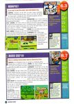 Scan of the review of Monopoly published in the magazine Nintendo Power 126