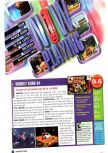 Scan of the review of Donkey Kong 64 published in the magazine Nintendo Power 127