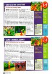 Scan of the review of Elmo's Number Journey published in the magazine Nintendo Power 129, page 1