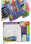 Scan du test de Kirby 64: The Crystal Shards paru dans le magazine Nintendo Power 134