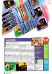 Scan of the review of Banjo-Tooie published in the magazine Nintendo Power 139