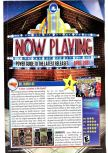 Scan of the review of Dr. Mario 64 published in the magazine Nintendo Power 143, page 1