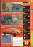 Scan of the review of Automobili Lamborghini published in the magazine Gameplay 64 03
