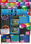 Scan of the review of Bust-A-Move 2: Arcade Edition published in the magazine Le Magazine Officiel Nintendo 06, page 1