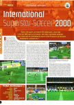 Scan of the review of International Superstar Soccer 2000 published in the magazine Joypad 100, page 1