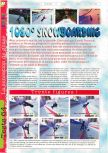 Scan of the review of 1080 Snowboarding published in the magazine Gameplay 64 05, page 1